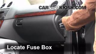 2007-2011 Dodge Nitro Interior Fuse Check