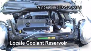 Coolant Level Check: 2008-2014 Cooper