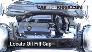 How to Add Oil Mini Cooper (2008-2014)