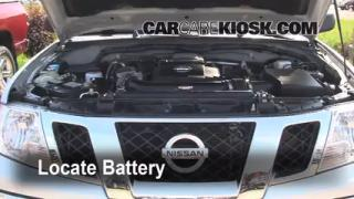 How to Jumpstart a 2005-2014 Nissan Frontier