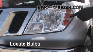 Parking Light Change 2005-2012 Nissan Frontier