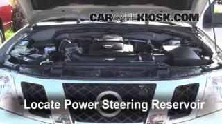 Follow These Steps to Add Power Steering Fluid to a Nissan Frontier (2005-2014)