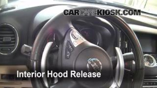 Open Hood How To 2009-2013 Nissan Maxima