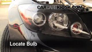 Parking Light Change 2005-2010 Scion tC
