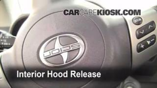 Open Hood How To 2005-2010 Scion tC