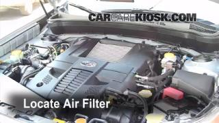 Air Filter How-To: 2009-2013 Subaru Forester