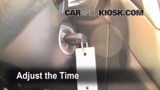 How to Set the Clock on a Subaru Forester (2009-2013)