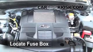 Blown Fuse Check 2009-2013 Subaru Forester