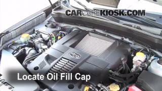how to change oil subaru forester