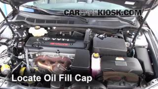 How to Add Oil Toyota Camry (2007-2011)