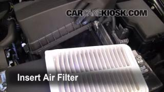 2009-2013 Toyota Venza Engine Air Filter Check
