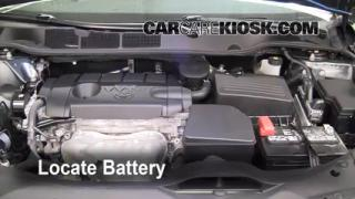 Battery Replacement: 2009-2013 Toyota Venza