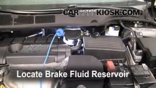 Add Brake Fluid: 2009-2013 Toyota Venza