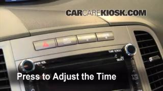 How to Set the Clock on a Toyota Venza (2009-2013)