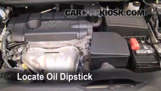 Check Oil Level 2009-2013 Toyota Venza