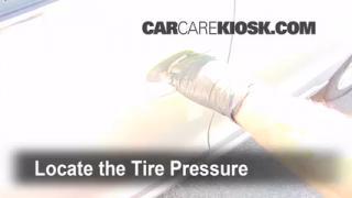 Controlar correctamente la presión de neumáticos: Audi Q5 (2009-2014)
