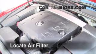 2008-2013 Cadillac CTS Cabin Air Filter Check