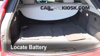 Battery Replacement: 2008-2013 Cadillac CTS