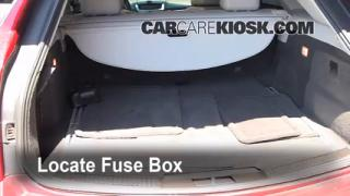 Interior Fuse Box Location: 2008-2013 Cadillac CTS