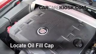 How to Add Oil Cadillac CTS (2008-2013)