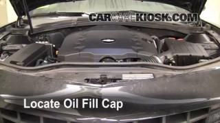 How to Add Oil Chevrolet Camaro (2010-2013)