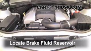 2010-2013 Chevrolet Camaro Brake Fluid Level Check