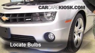 Parking Light Change 2010-2013 Chevrolet Camaro