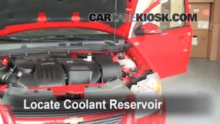 How to Add Coolant: Chevrolet Cobalt (2005-2010)