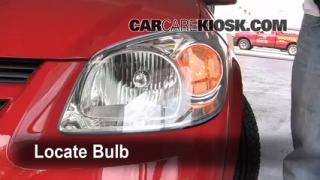 Front Turn Signal Change Chevrolet Cobalt (2005-2010)