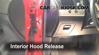 Open Hood How To 2005-2010 Chevrolet Cobalt