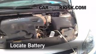 How to Jumpstart a 2008-2012 Chevrolet Malibu