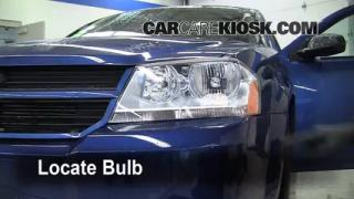 Headlight Change 2008-2013 Dodge Avenger