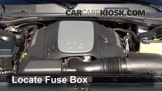 interior fuse box location 2006 2010 dodge charger 2010. Black Bedroom Furniture Sets. Home Design Ideas