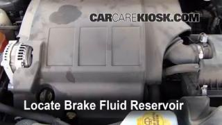2009-2013 Dodge Journey Brake Fluid Level Check