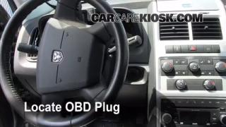 Engine Light Is On: 2009-2013 Dodge Journey - What to Do