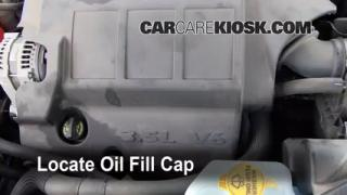 How to Add Oil Dodge Journey (2009-2013)