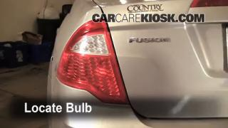Tail Light Change 2010-2012 Ford Fusion
