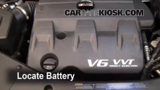 Battery Replacement: 2010-2013 GMC Terrain