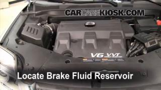 Add Brake Fluid: 2010-2014 GMC Terrain