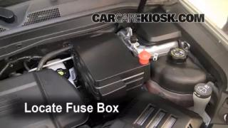 Blown Fuse Check 2010-2013 GMC Terrain