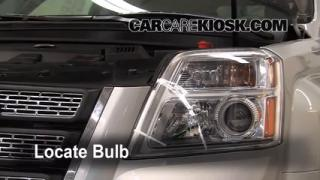 Parking Light Change 2010-2013 GMC Terrain