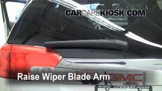 Rear Wiper Blade Change GMC Terrain (2010-2013)