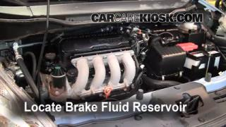 Add Brake Fluid: 2009-2013 Honda Fit