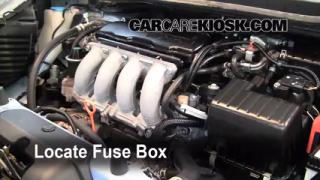 Blown Fuse Check 2009-2013 Honda Fit