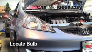 Highbeam (Brights) Change: 2009-2013 Honda Fit