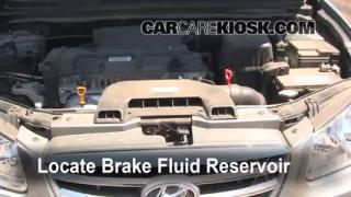 Add Brake Fluid: 2007-2012 Hyundai Elantra