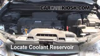 Coolant Level Check: 2007-2012 Elantra