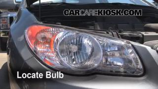 Headlight Change 2007-2010 Hyundai Elantra
