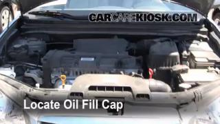 How to Add Oil Hyundai Elantra (2007-2010)
