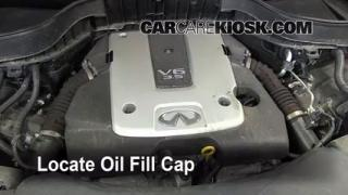 How to Add Oil Infiniti FX35 (2009-2012)
